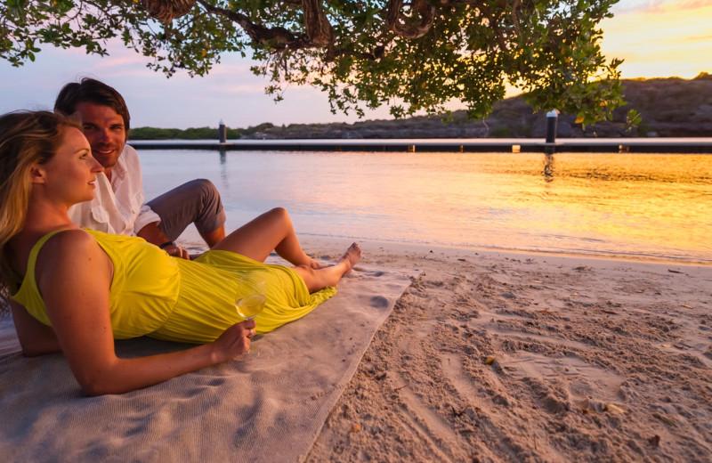 Beach at Hyatt Regency Curacao Golf Resort, Spa and Marina.