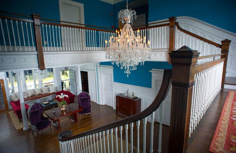 Original Staircase at Kemble Inn