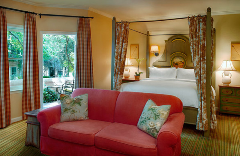 Junior suite at The Fairmont Sonoma Mission Inn & Spa.