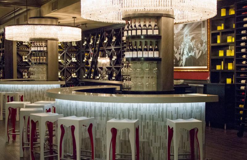 Wine bar at La Concha Hotel & Spa.