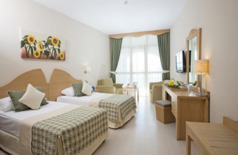 Guest room at Limak Arcadia Golf Resort.
