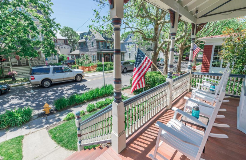Rental porch at Jersey Cape Realty.