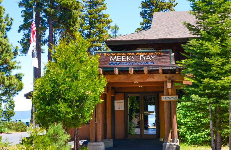 Exterior view of Meeks Bay Resort & Marina.