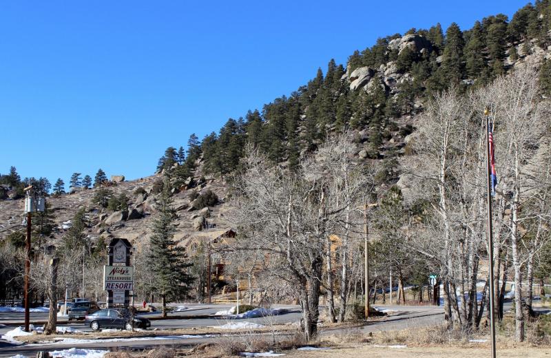 Mountain view at Bear Creek Vacation Condos.