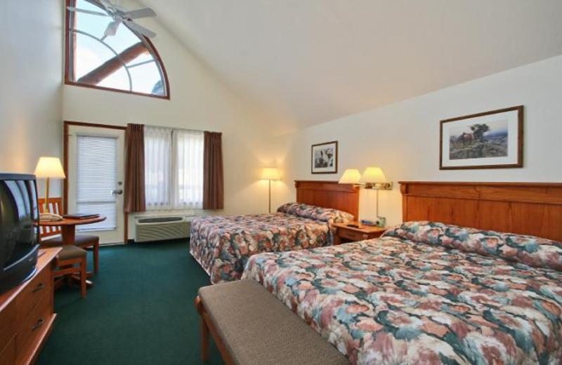 Guest room at Spruce Grove Inn.