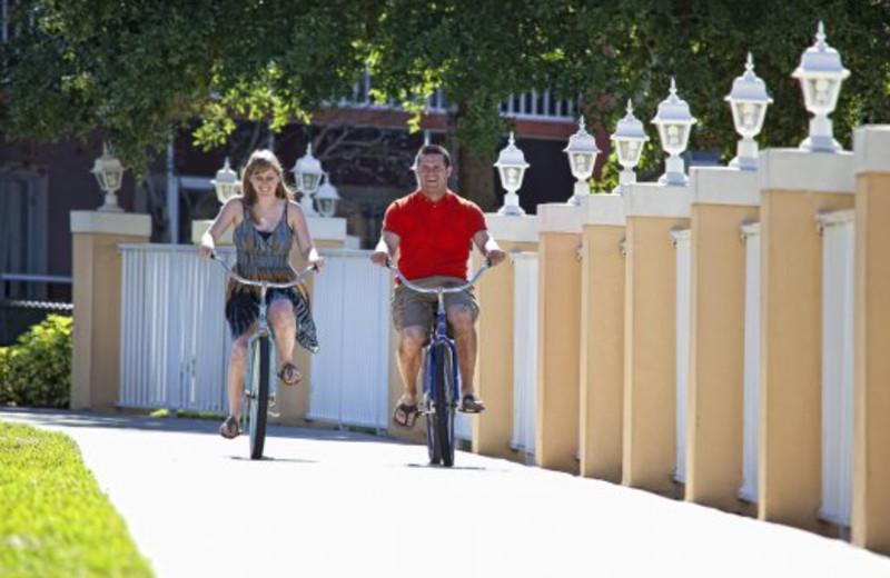 Biking at Westgate Vacation.