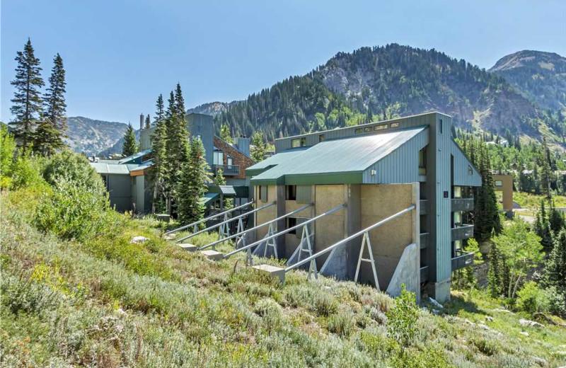 Rental exterior at Canyon Services Vacation Rentals.