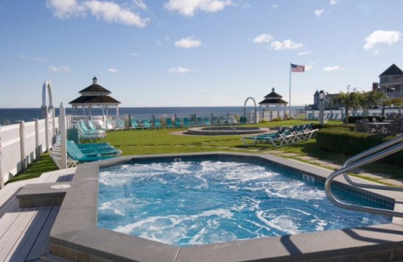 Outdoor pool at Anchorage by the Sea.