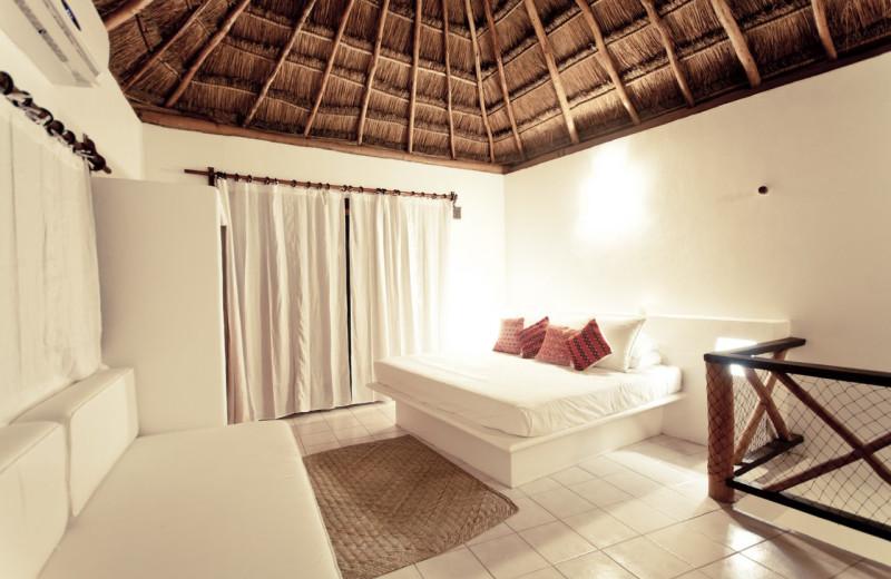 Guest room at Na Balam.