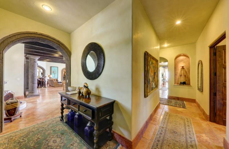 Hallway at Casa Mar y Estrella.