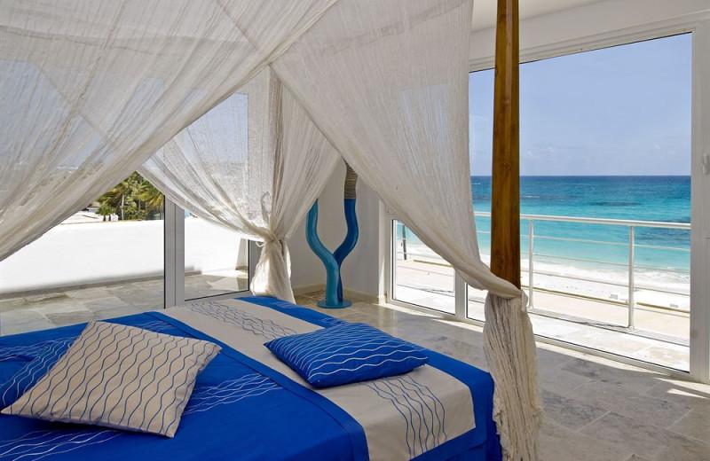 Vacation rental cabana at Coral Beach Club.