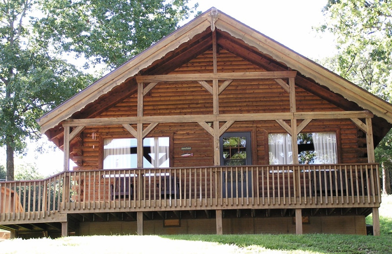 Log Cabins at Mill Creek Resort on Table Rock Lake