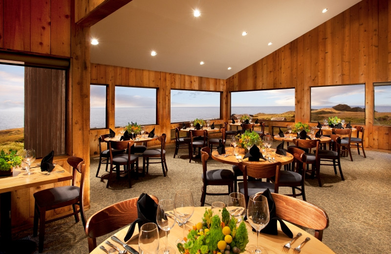 Dining at Sea Ranch Lodge.