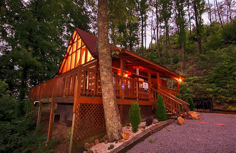 Rental exterior at Smoky Mountains Vacation Cabins, LLC.