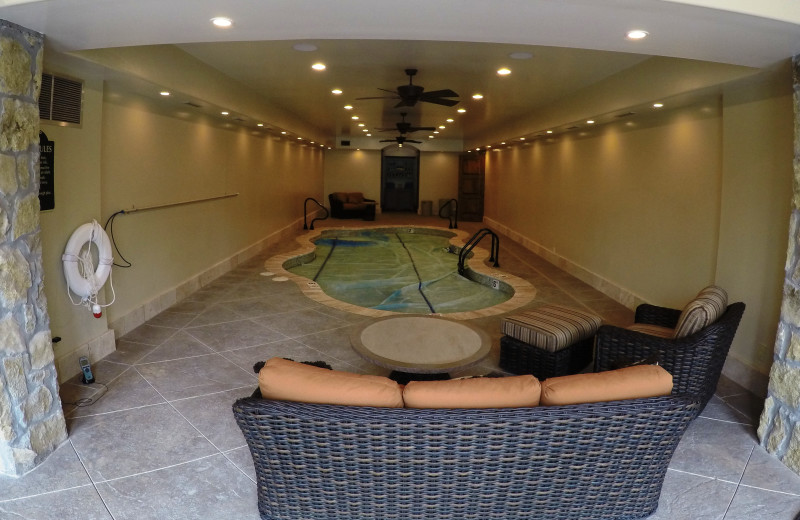 Indoor pool at Morrell Ranch.