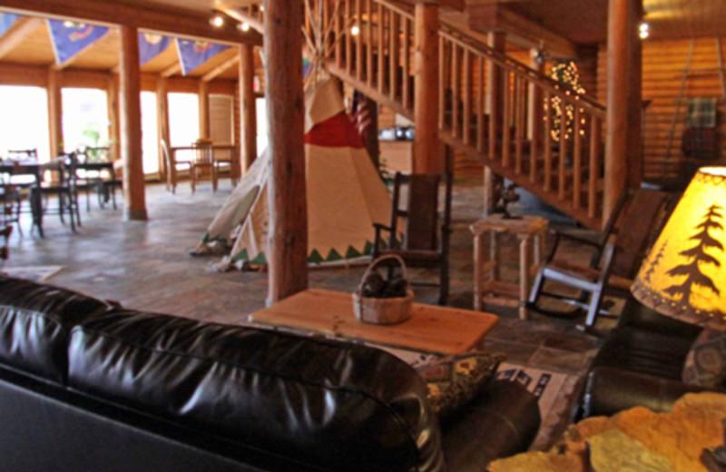 Lodge Interior at Lolo Lodge