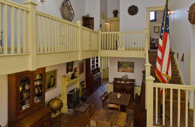 Interior view of The Pack House Inn.