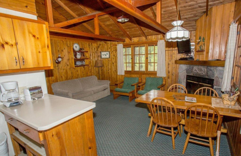 Rustic and comfortable with the comforts of home