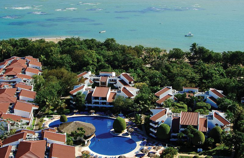 Arial View at Barcelo Puerto Plata
