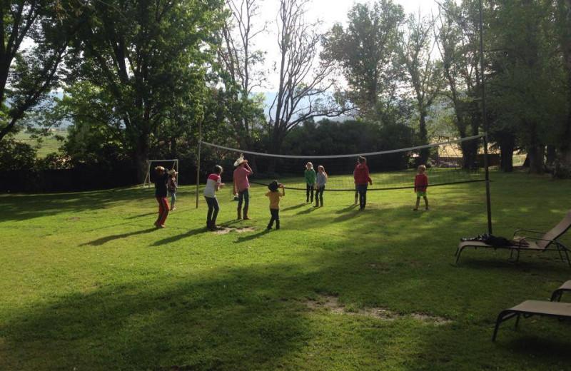 Volleyball at Rankin Ranch.