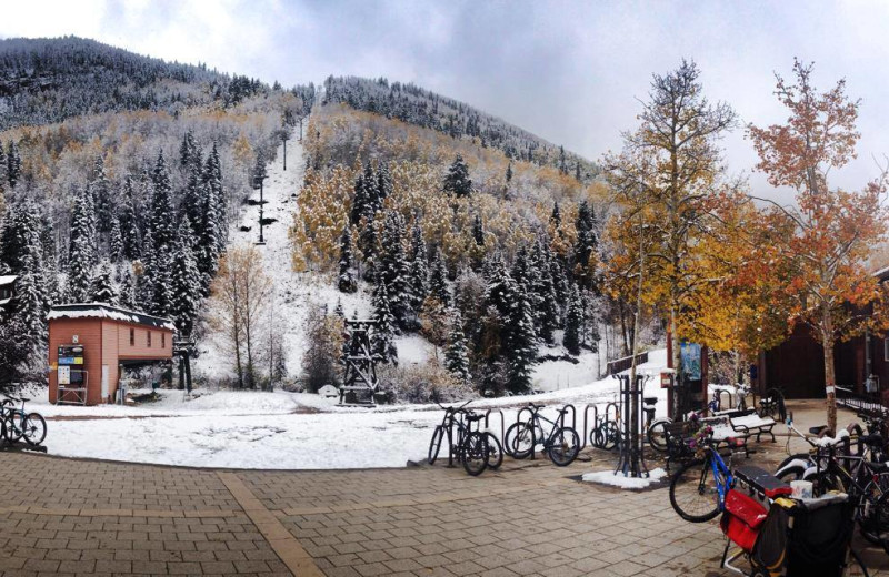 Ski lift at SilverStar Luxury Properties.