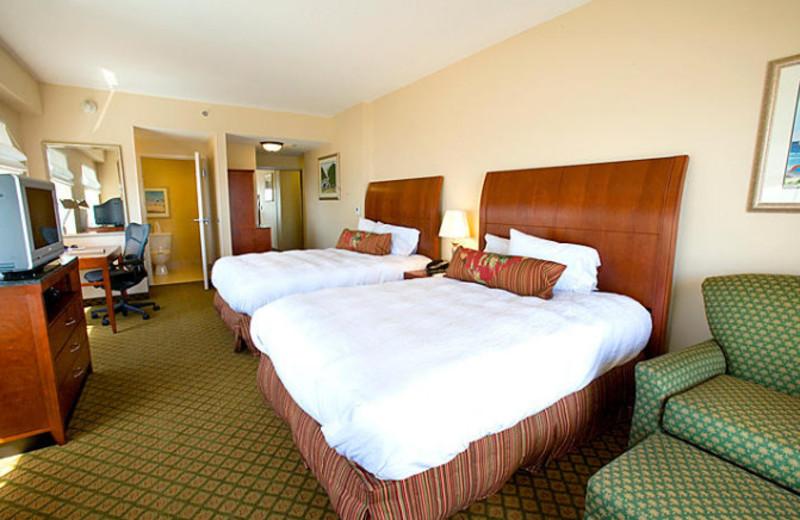 Double suite at Hilton Garden Inn Outer Banks.
