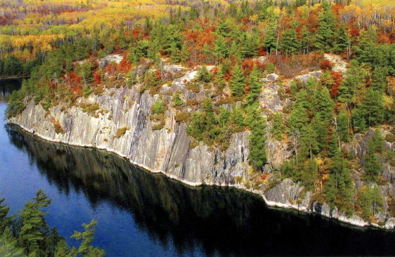 Cliffs at Northern Lights Resort & Outfitting.