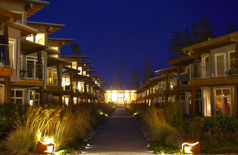 Exterior view of Cox Bay Beach Resort.