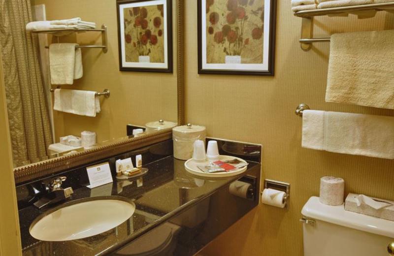 Guest Bathroom at Best Western Plus Brookside Inn