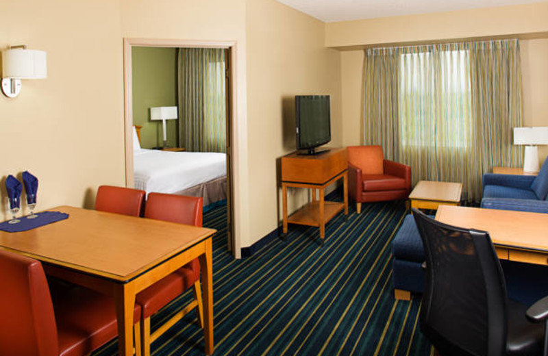 Guest suite at Residence Inn-Anaheim Resort.