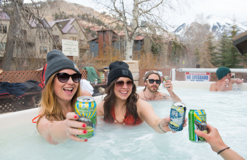 The Mountainside Inn is both family-friendly and great for friends!