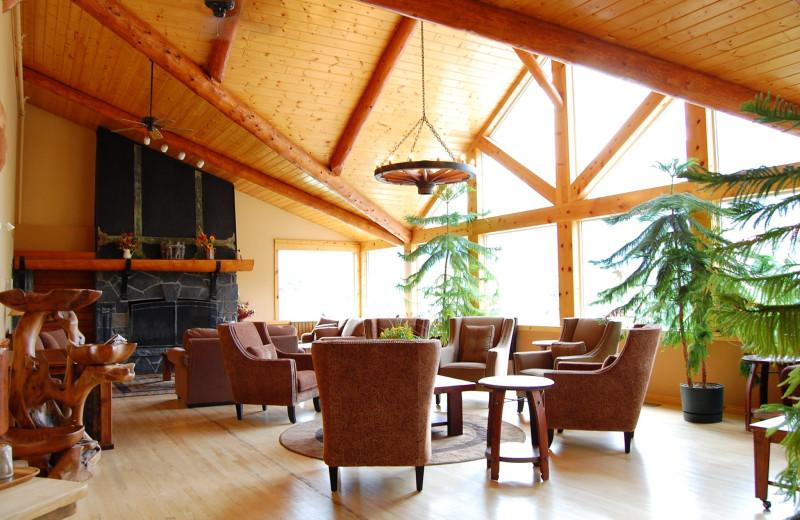 Lobby at Westridge Country Inn.