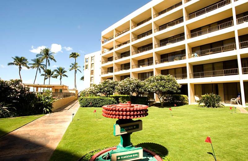 Exterior view of Sugar Beach Resort.