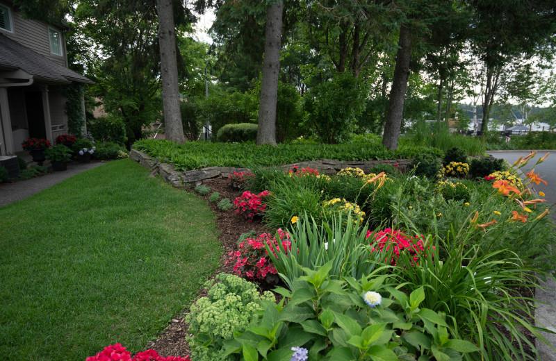 Garden at Taboo Muskoka.