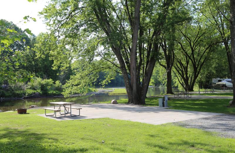 Campground at Yogi Bear's Jellystone Park™ Camp-Resort in Gardiner, NY.