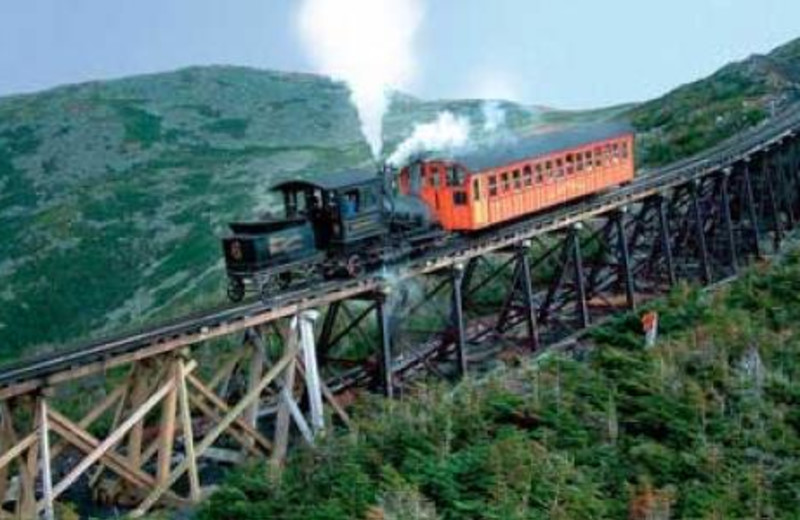 Cog Railway at Cathedral Ledge Resort