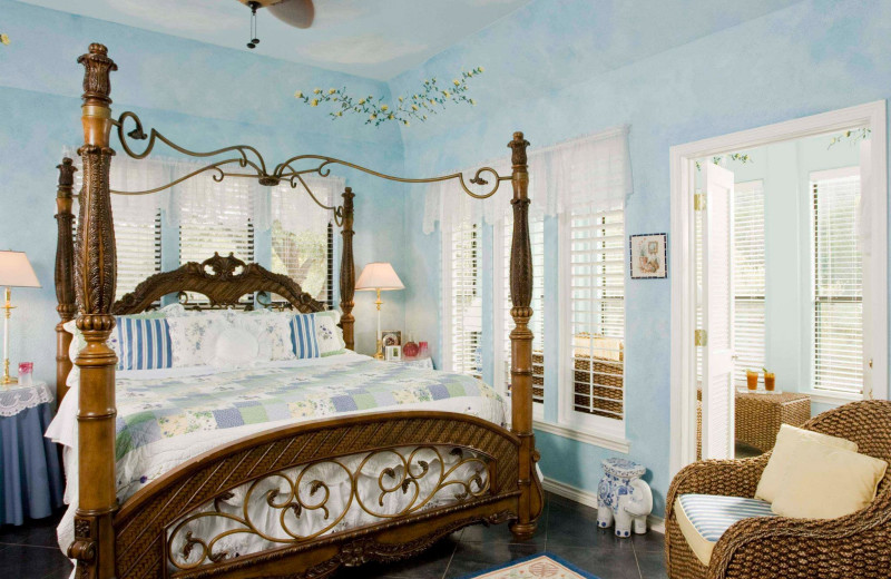Guest room at Blair House Inn.