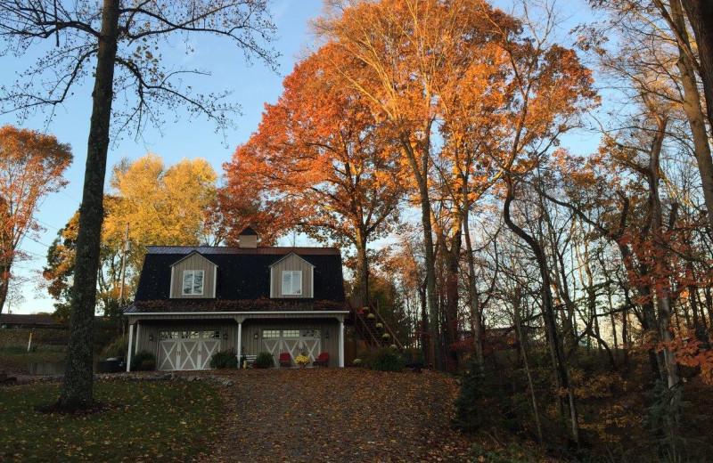 Fall near Chateau Lake Logan.