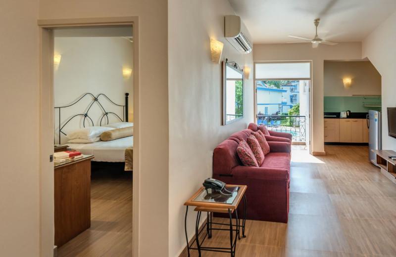 Guest room at Royal Goan Beach Club-Royal Palms.
