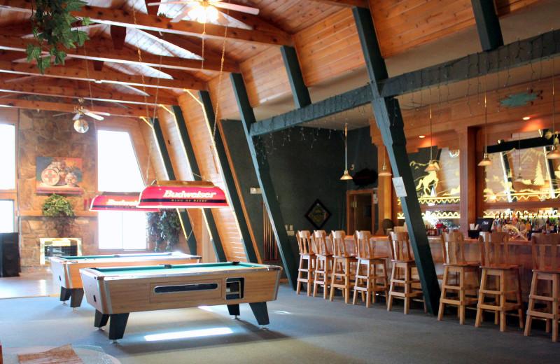 Lounge at Echo Basin Cabin And RV Resort.