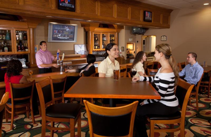Dining area at Clarion Inn Lake Buena Vista.
