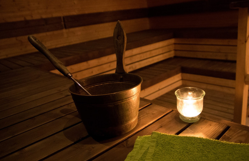 Sauna at Wilderness Resort Villas.