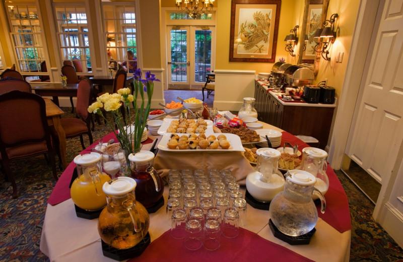 Dining at The Bellmoor Inn & Spa.