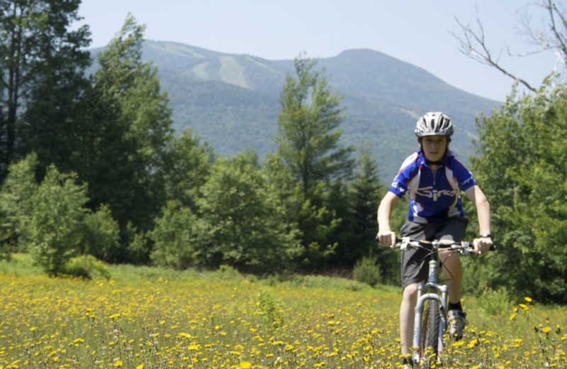 Biking near The Valley Inn.