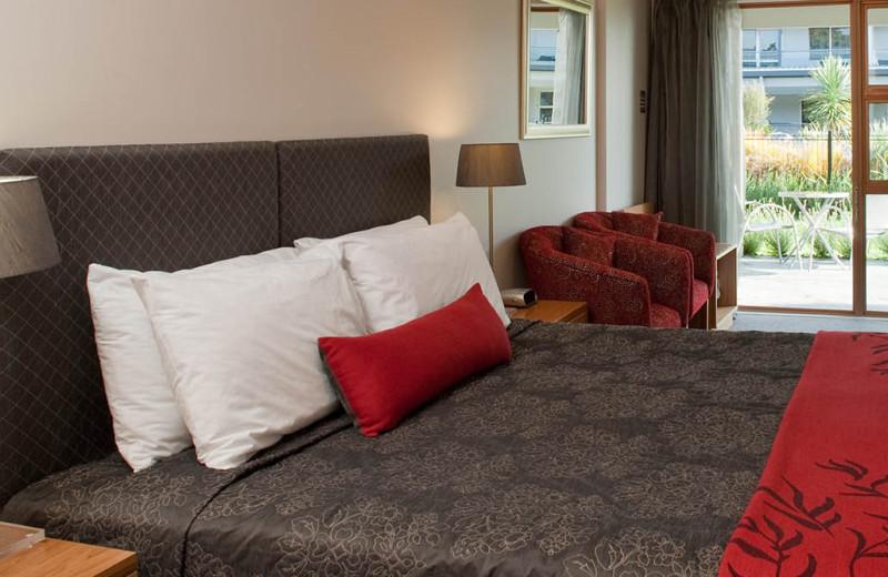 Guest room at Wai Ora Lakeside Spa Resort.