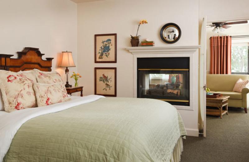 Guest room at Casa Laguna Inn.
