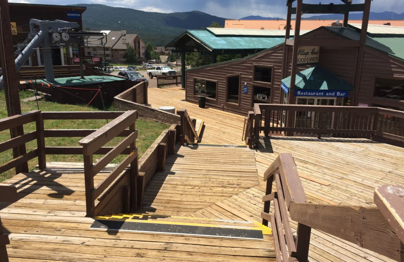 Deck at Cozy Mountain Condo (AMM Properties).