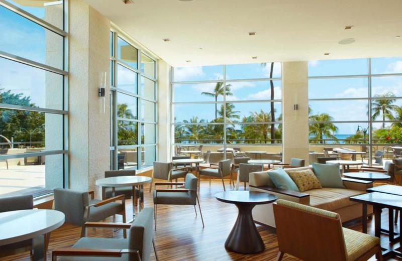Dining room at Hyatt Regency Waikiki Resort & Spa.