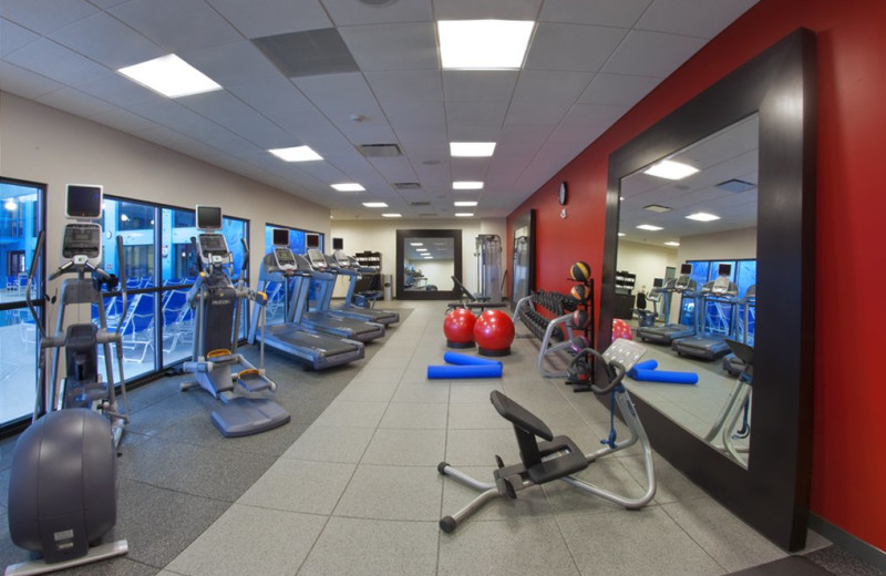 Fitness room at Lancaster DoubleTree Resort by Hilton.