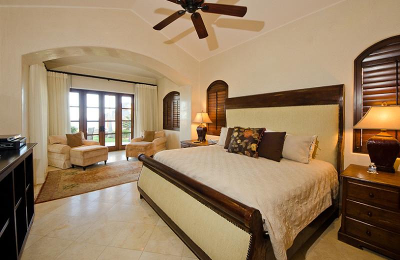 Rental bedroom at Luxury Villa Collections.